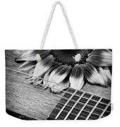 Sunflower And Guitar Weekender Tote Bag