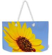 Sunflower And Ladybird Beetle 2am-110488 Weekender Tote Bag
