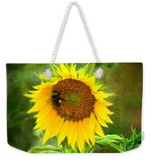 Sunflower And Visitors Weekender Tote Bag