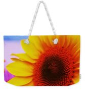 Sunflower At Beach Weekender Tote Bag