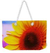 Sunflower At Beach Weekender Tote Bag