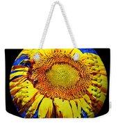 Sunflower Baseball Square Weekender Tote Bag