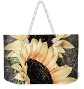 Sunflower Blossoms Weekender Tote Bag