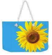 Sunflower Blue Sky Weekender Tote Bag