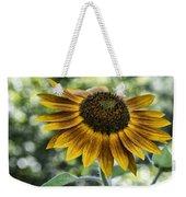 Sunflower Bokeh Weekender Tote Bag