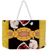 Sunflower Card Yellow Weekender Tote Bag