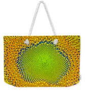 Sunflower Center Weekender Tote Bag