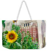 Sunflower City Weekender Tote Bag