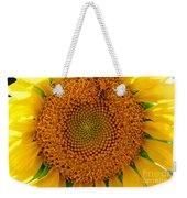 Sunflower Close-up Weekender Tote Bag