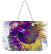 Sunflower Composite Weekender Tote Bag