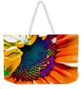 Sunflower Crazed Weekender Tote Bag