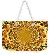 Sunflower Dance Weekender Tote Bag