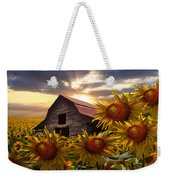 Sunflower Dance Weekender Tote Bag