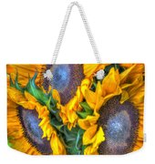 Sunflower Delight Weekender Tote Bag
