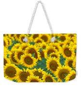 Sunflower Explosion Weekender Tote Bag