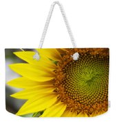 Sunflower Face Weekender Tote Bag