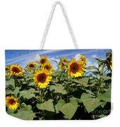Sunflower Field Weekender Tote Bag