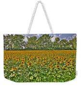 Sunflower Fields Ford World Headquarters Dearborn Mi Weekender Tote Bag