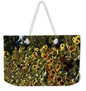 Sunflower Fields Forever Weekender Tote Bag