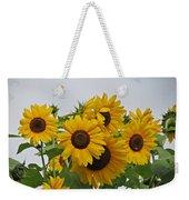Sunflower Group Weekender Tote Bag