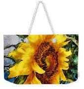 Sunflower Heart Weekender Tote Bag