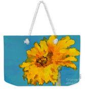 Sunflower Illusion Weekender Tote Bag