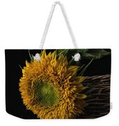 Sunflower In A Basket Weekender Tote Bag