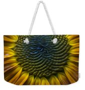 Sunflower In Rain Weekender Tote Bag