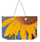 Sunflower In The Corner Weekender Tote Bag