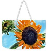 Sunflower In The Sky Weekender Tote Bag