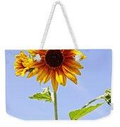 Sunflower In The Sky Weekender Tote Bag by Kerri Mortenson