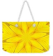 Sunflower Kaleidoscope 1 Weekender Tote Bag