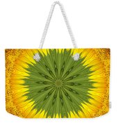 Sunflower Kaleidoscope 3 Weekender Tote Bag