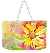 Sunflower Weekender Tote Bag by Kelly Perez