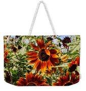 Sunflower Layers Weekender Tote Bag