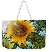 Sunflower Light Weekender Tote Bag