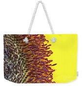 Sunflower Macro Image Weekender Tote Bag