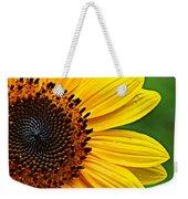 Sunflower Macro Weekender Tote Bag