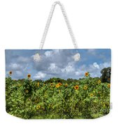 Sunflower Maze Weekender Tote Bag