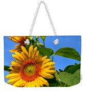 Sunflower Pair Weekender Tote Bag