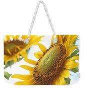 Sunflower Perspective Weekender Tote Bag