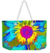 Sunflower Pop Weekender Tote Bag