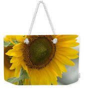 Sunflower Portrait Weekender Tote Bag