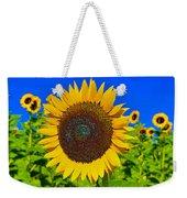 Sunflower Power Weekender Tote Bag