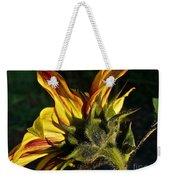 Sunflower Profile Weekender Tote Bag