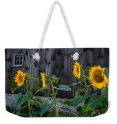 Sunflower Quartet Weekender Tote Bag
