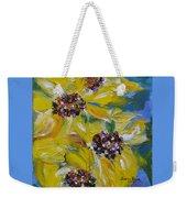 Sunflower Quartet Weekender Tote Bag