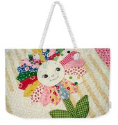 Sunflower Quilts Weekender Tote Bag