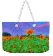 Sunflower Rhapsody Weekender Tote Bag