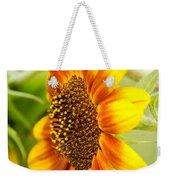 Sunflower Side Portrait Weekender Tote Bag
